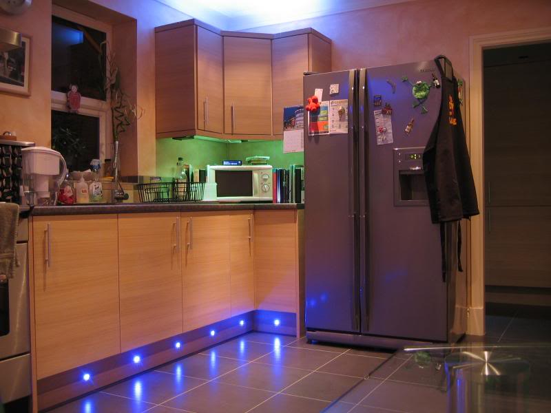 Kitchen Plinth LED Strip Lighting Kit 6m | YourWelcome Prepossessing 25+  White Kitchen Kickboard ...